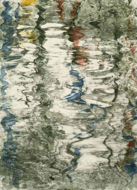 KATHRYN ELIZABETH GREENWALD Return to Water Monotype