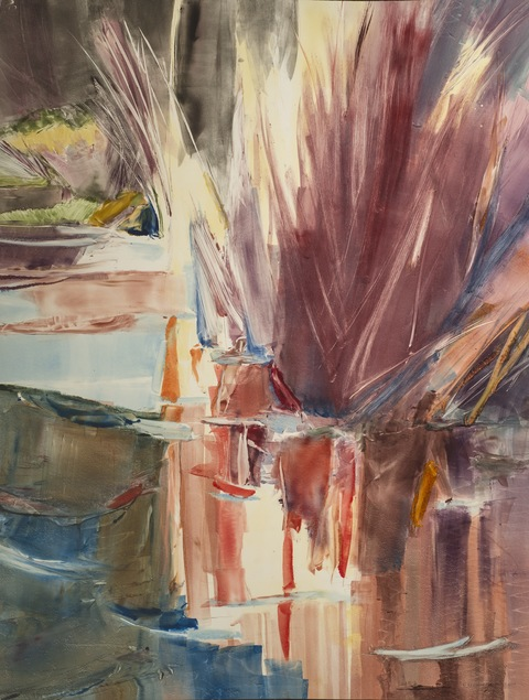 KATHRYN ELIZABETH GREENWALD Reflections Monotype