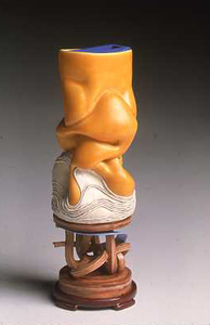"KATHY BUTTERLY ""Recent Works,"" Tibor de Nagy Gallery (2002) clay, glaze"