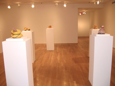 "KATHY BUTTERLY ""Between a Rock and a Soft Place,"" Tibor de Nagy Gallery (2007)"