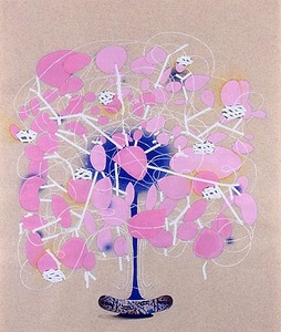 KATHY BUTTERLY Works on Paper gouache, pencil, white-out, collage on paper