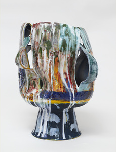 "KATHY BUTTERLY ""Yellow Haze"" (2021) Clay, Glaze,"