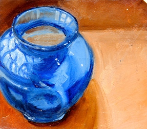 Kathy Calhoun En Plein Objects Oil on paper