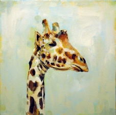 KATHY FEIGHERY Animal Series Oil and Acrylic on Canvas