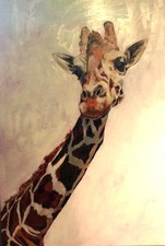 KATHY FEIGHERY Animal Series Acrylic and Oil on Panel