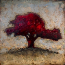 KATHY FEIGHERY Tree Series oil on panel