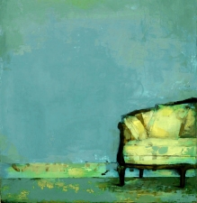 KATHY FEIGHERY Interiors oil on canvas over panel