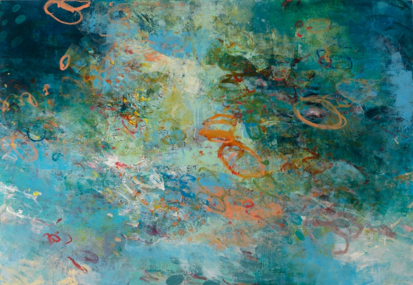 Kathy Soles  Paintings oil on canvas mounted on board