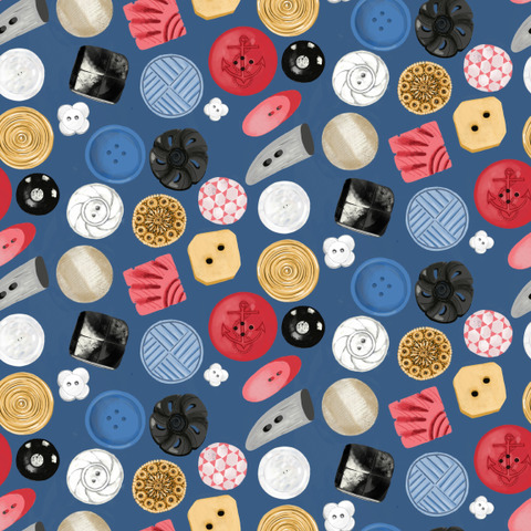 Surface & Textile Design Vintage Buttons
