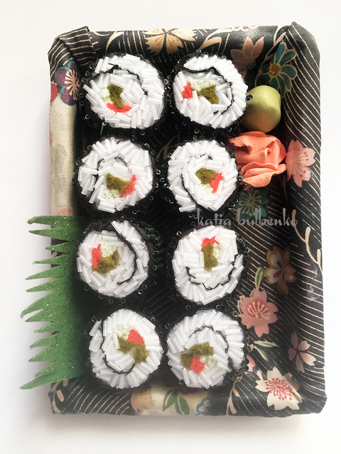 Fiber & Jewelry Veggie Roll