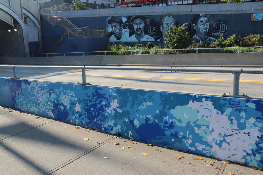 "Katie M. Westmoreland ""Dappled Light, Shifting Shadows"" NYC Dept. of Transportation Community Commission in Bronx, NY"