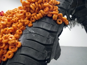 Katie Rubright 2013-2009 tire, froot loops, bleach