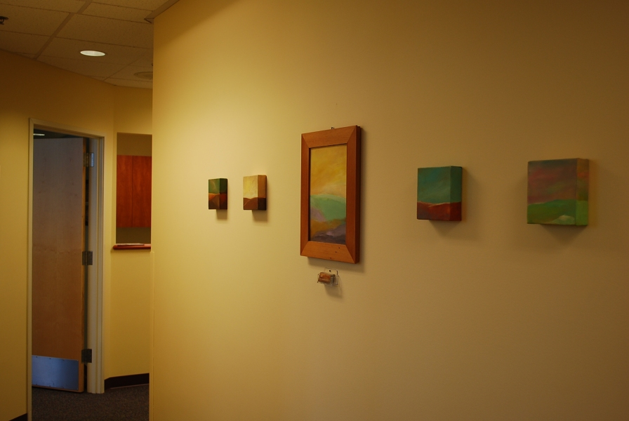 Paintings in Their Homes Pacific Women's Health Clinic   Vancouver, WA