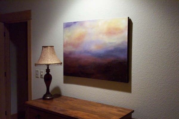 Paintings in Their Homes In Central Oregon