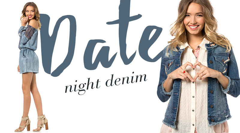 Hair & Makeup Miss Me Jeans- Valentine's Day Campaign