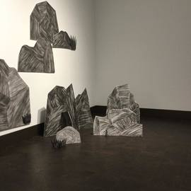 Rockscape Rockscape (installed at Rowan University Art Gallery)