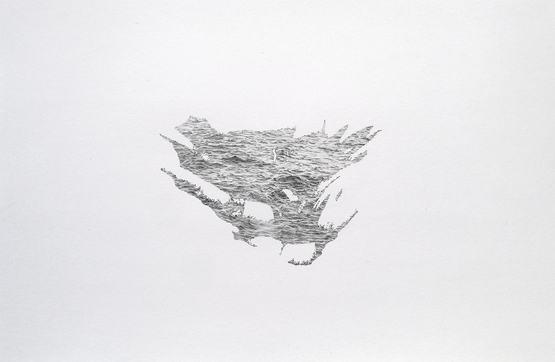 Katrina Bello Interstellar graphite on paper