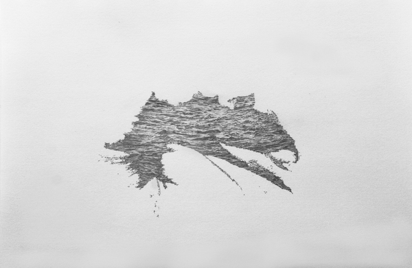 Katrina Bello Hold  graphite on paper
