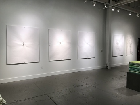 Vast Expanses, 2-person exhibition, Brick + Mortar Gallery, Easton, PA, USA Sept 2019