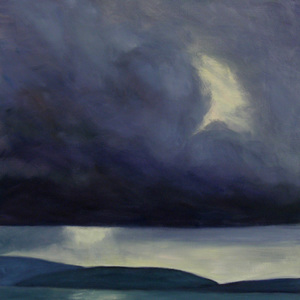 Kay Knight Clarke Scotland oil on linen