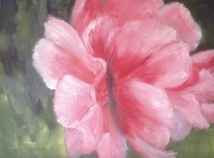 Kay Knight Clarke Peonies oil on linen