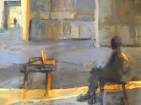 Kathy Burdon Paintings-Figure and Interiors Oil