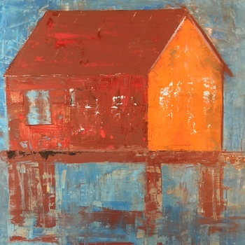 Kathy Cotter COASTAL OIL ON BOARD