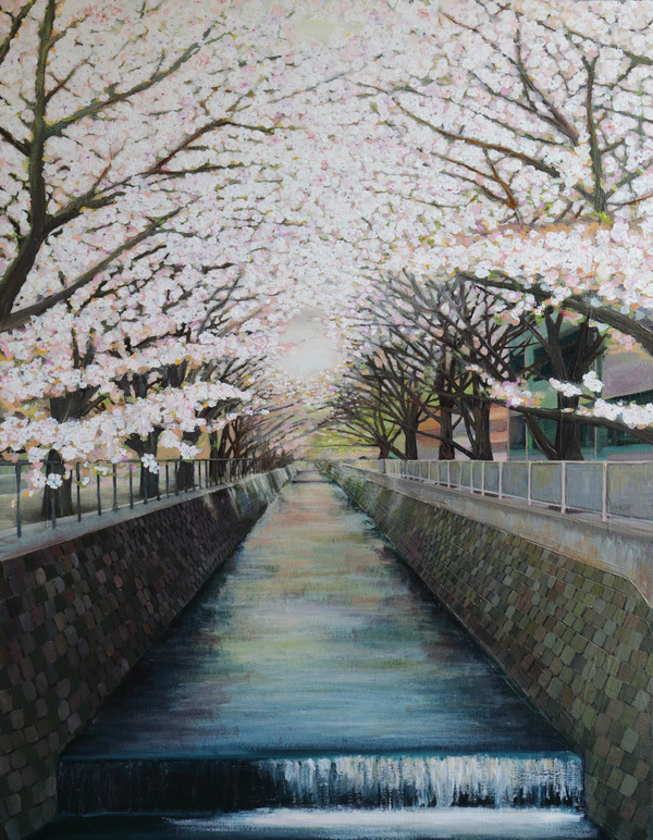 Keisuke Eguchi Painting Tokyo Painting oil on canvas