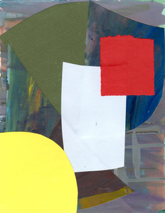 Keisuke Eguchi Painting Collage collage on paper