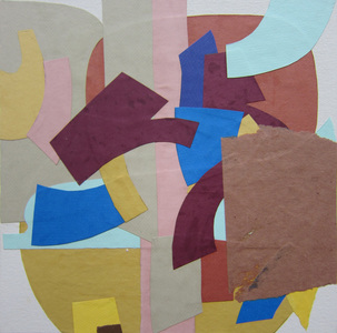 Keisuke Eguchi Painting Collage collage on canvas board