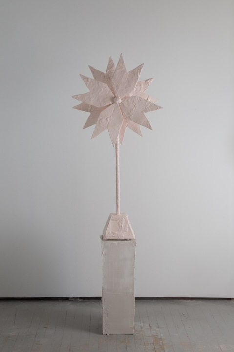 Kelcy Chase Folsom Archive porcelain, powder-­coated aluminum windmill
