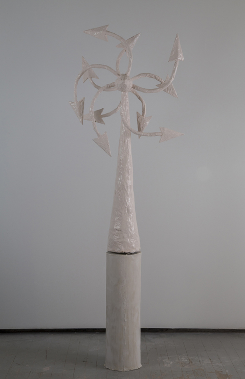 Kelcy Chase Folsom Archive porcelain, powder-coated aluminum windmill