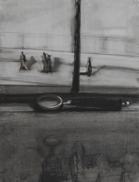 Kelley Harwood Work Charcoal on paper