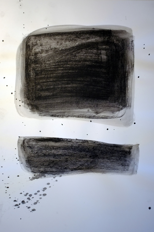Kenneth Jaworski Selected Recent Works 2013-2015 Charcoal and wash on paper