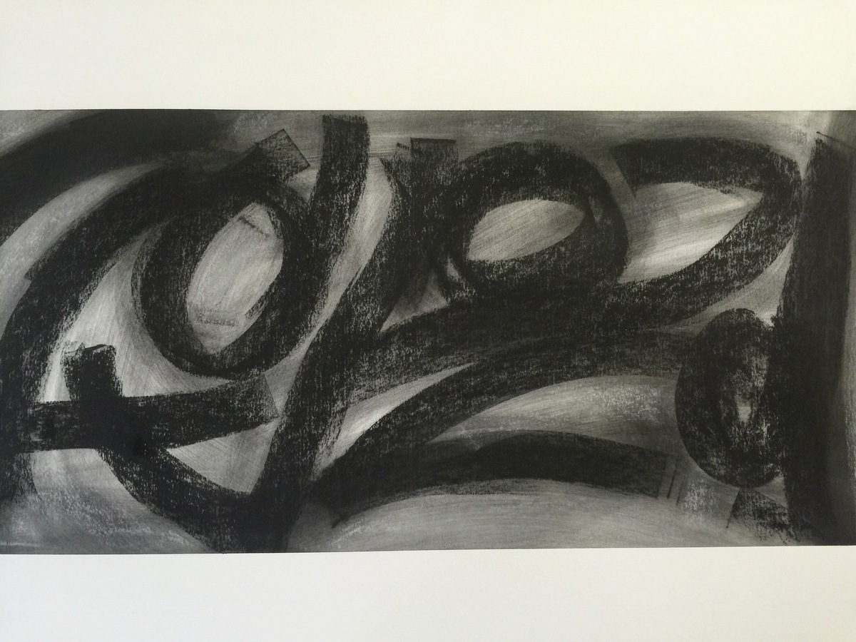 Kenneth Jaworski Selected Recent Works | 2016-Present Charcoal and chalk on paper