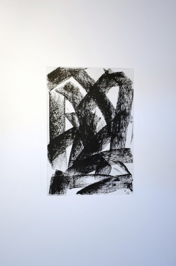 Kenneth Jaworski Selected Recent Works 2013-2015 Charcoal on paper