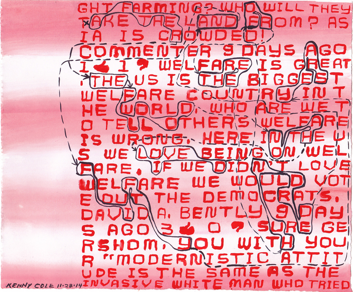"Drawings 100 - 199 #140 ""Welfare is Great"""