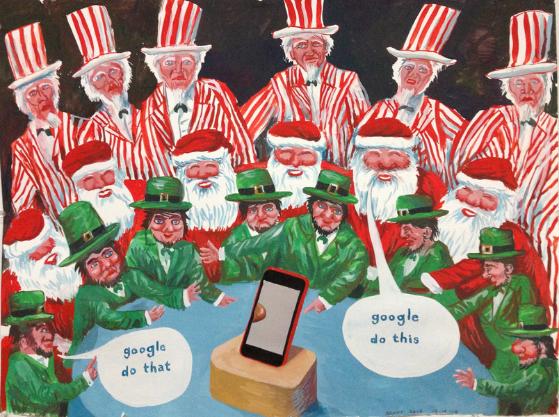 "Smart Phone Collages ""Google Do This, Google Do That"""
