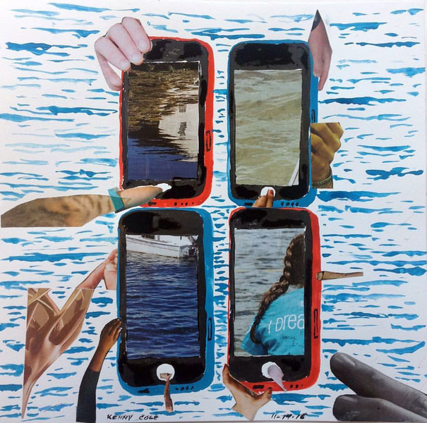 "Smart Phone Collages ""Seascape"""