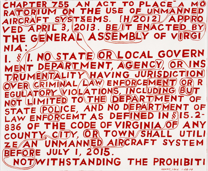 Drone Legislation Drone Legislation: Virginia (Orwell, Orgy)