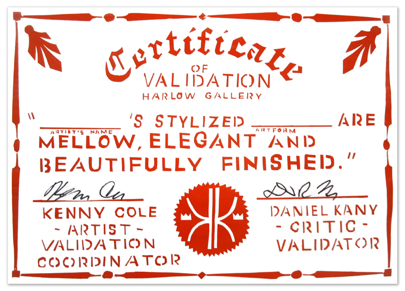 Validation Certificates Beautifully Finished