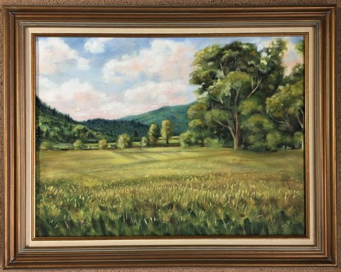 Kenneth Ochab Landscape  Oil/Canvas