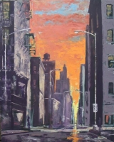 Ken Rush Landscapes and Cityscapes 2000-2010 Oil on Linen