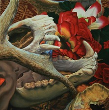 Kevin Klein Memento Mori Oil on Canvas