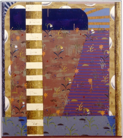 Kevin Wixted Archive 2000-1991 Oil, Wax and Enamel on Wood