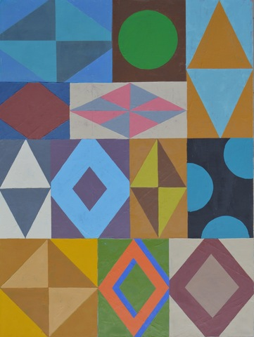 Kevin Wixted Selected Paintings 2017-14 oil on canvas