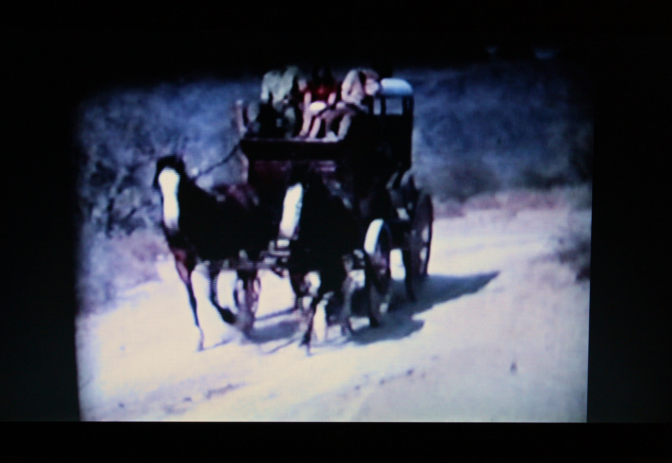 Welcome To My Myth, Part II Still from Family Landscape (Video), Scene from Old Tucson