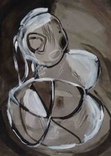 Kimberly DiNatale Drawings 3 Ink on paper