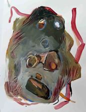 Kimberly DiNatale Paintings and Drawings acrylic on paper