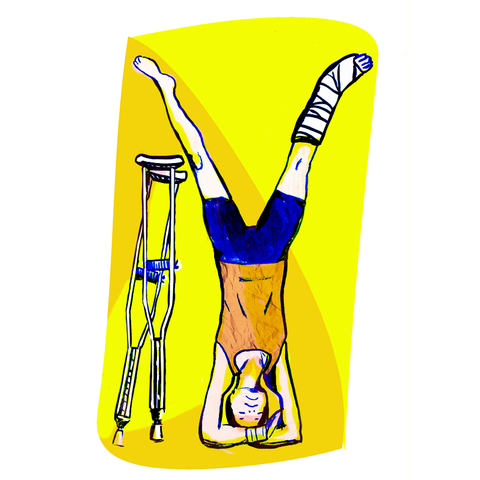 Kimberly Reinhardt YogaCity NYC Illustrations
